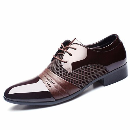Lace-up Low Heel Spring/Fall Formal Shoes