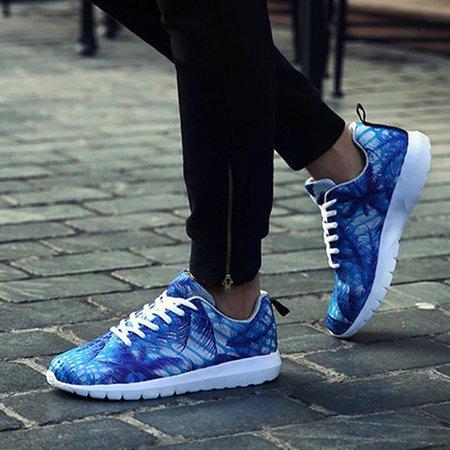 Hommes Et Femmes Amateurs Chaussures Camouflage Mode Chaussures De Sport Casual Lacer Les Chaussures De Course or5Wy5