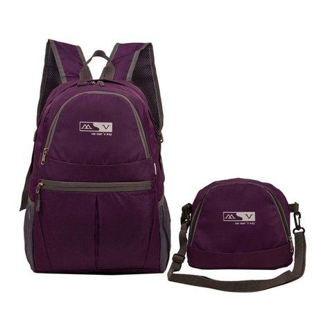 Unisex High Capacity Casual Nylon Folding Portable Sport Travel Backpack Shoulder Bags