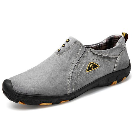 Men's Faux Leather Wearable Slip On Outdoor Casual Shoes