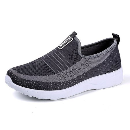 Men Knitted Fabric Sneakers