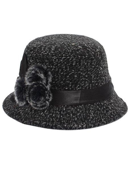 Woven Casual Bucket Hat