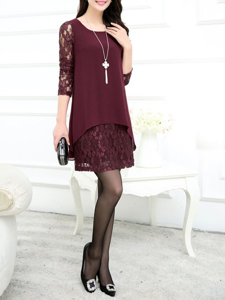 Lace Elegant Dress
