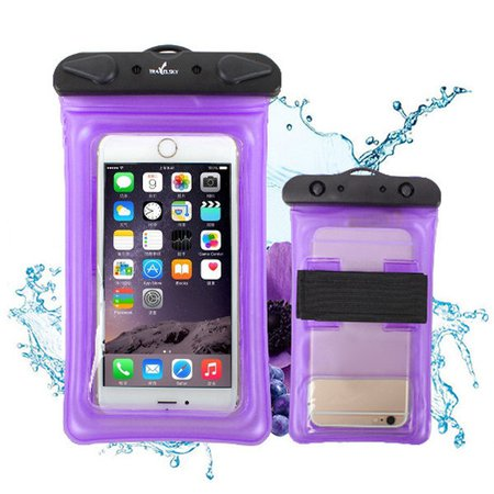 Unisex PVC Outdoor Swimming Waterproof 6inch Phone Storage Bags