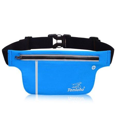 Unisex Versatile Sport Running Waterproof High elastic Waist Bag Phone Cash Cards Bags