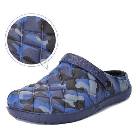 PVC Casual Flat Heel Winter Slippers