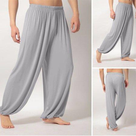 Men's Lightweight Loose Yoga Pants Cozy Sports Pants