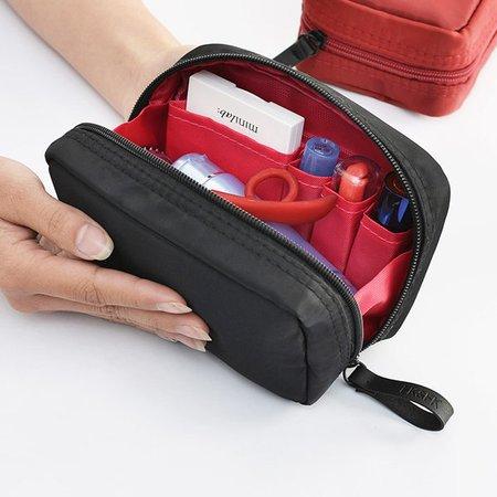 Women Nylon Cosmetic Bag Outdoor Portable Small Travel Storage Bag