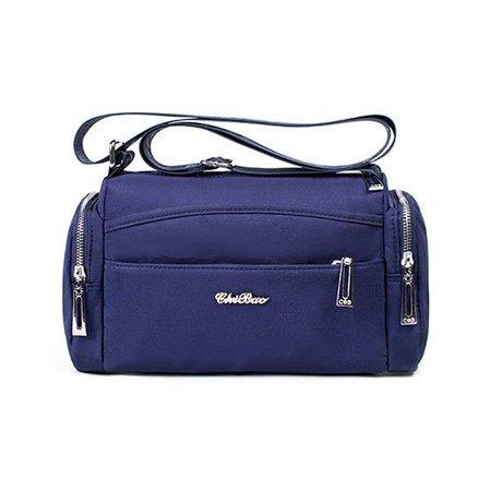 Women Multi Pockets Nylon Functional Outdoor Casual Light Crossbody Bag