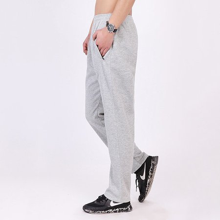 Plus Size Sports Pockets Solid Pants
