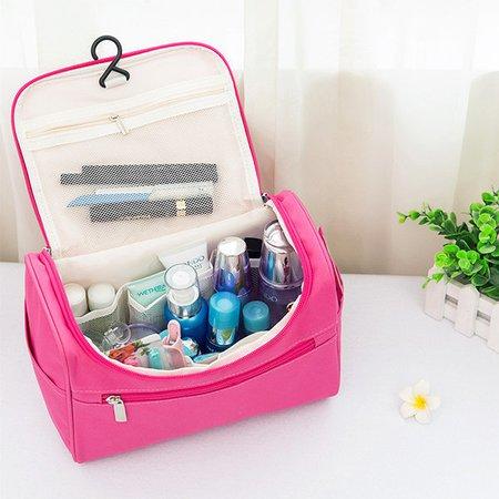 Multifunctional Nylon Travel Waterproof Cosmetic Hang Storage Bags