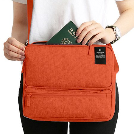 Unisex Functional Outdoor Large Capacity Crossbody Bag