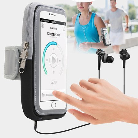 Unisex Touch Screen Women Men Running Sports 5.5inc/6inch Phone Bag Arm Bag