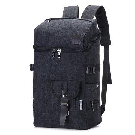 Canvas Travel Backpack High Capacity Computer Bag For Women Men