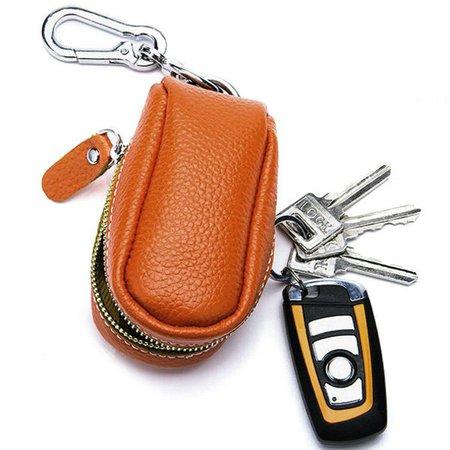 Unisex Genuine Leather Car Key Holder House Key Holder Purse Bag