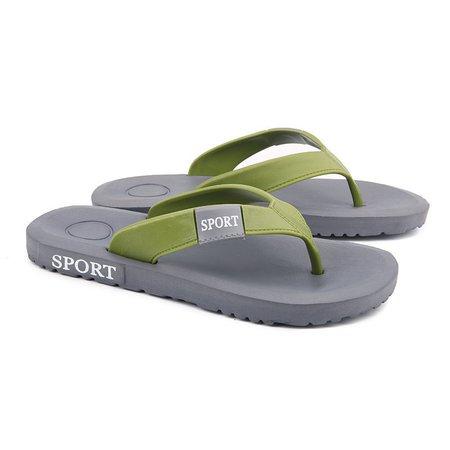 Hommes Orteil Pince Anti-dérapante Chaussures De Plage Occasionnels Pa4R2Z48