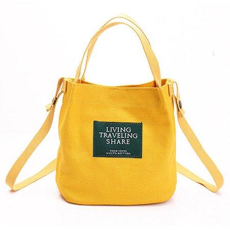 Women Canvas Durable Must-have Lightweight Handbag Crossbody Bag