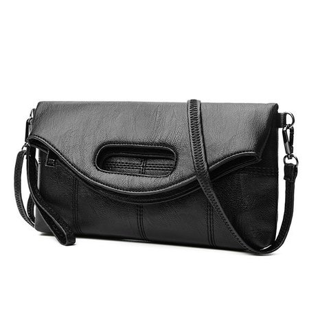 Women Messenger Handbag PU Leather Stylish Crossbody Bags