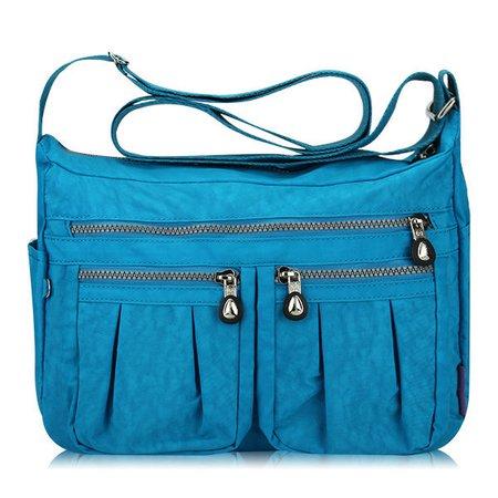 Waterproof Nylon Lightweight  Multifunction Outdoor rossbody Bags