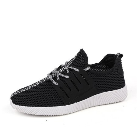 Men Mesh Fabric Breathable Casual Light Running Shoes Sneakers