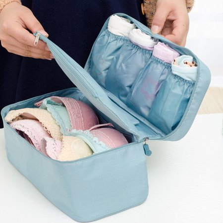 Waterproof Nylon Travel Lightweight Underclothes Wash Cosmetic Storage Bags