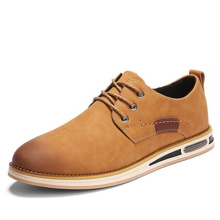 Men Microfiber Leather Wear-resistant Casual Shoes