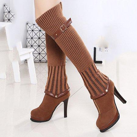 Convertible Removable High Heel Zipper Boots
