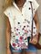 Short Sleeve Floral-Print Casual Shirts & Tops