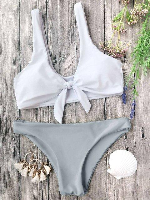 Padded Bralette Bow Knotted Bikini
