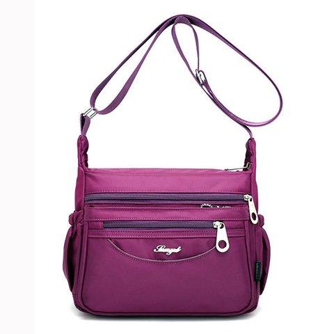 Women Waterproof Casual Multi-Pockets Light Outdoor Travel Crossbody Bags