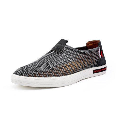 Men Lycra Mesh Breathable Soft Sport Casual Shoes