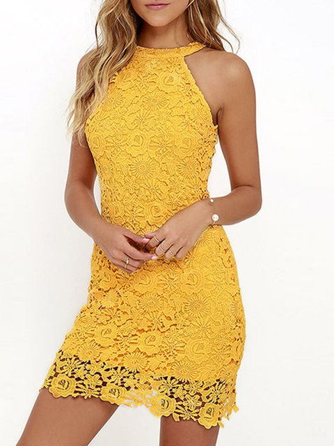 Floral Elegant Sheath Sleeveless Party Dress