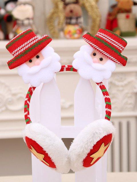 Christmas Headband Xmas Party Decoration Santa Earmuff
