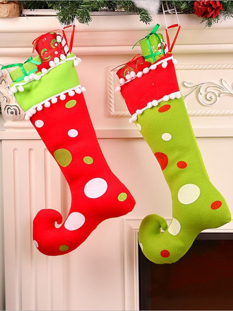 Christmas Gift Boots Tree Hanging Decoration Stockings Crafts