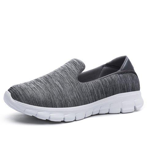 Breathable Flat Heel Slip On Sneakers
