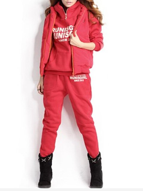 Outdoor Paneled Hoodie Polyester Women's Co-ord