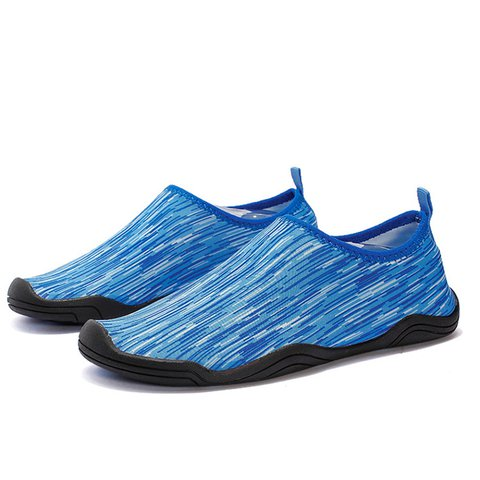 Seaside Flat Heel Elastic Cloth Water Sports Shoes