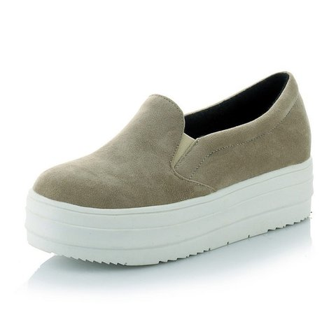 All Season Casual Slip On Platform Loafers