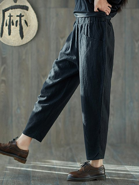 Linen Casual Pocket Pant