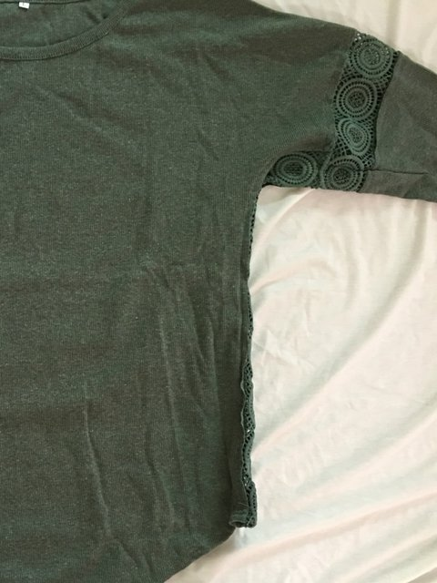 Green T Casual Paneled Army Solid Shirt zwdfyfCcq