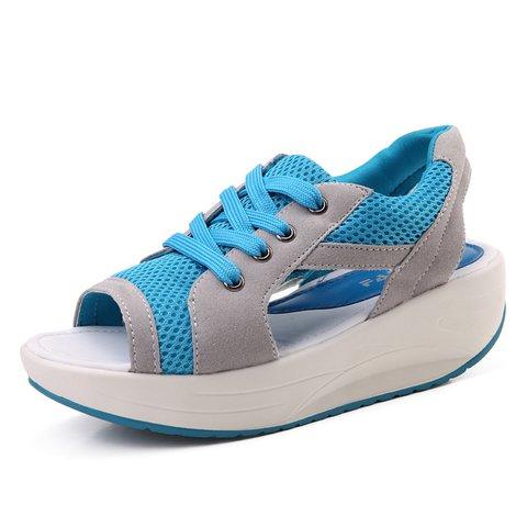 Breathable Mesh Fabric Slip On Tanjun Sandals
