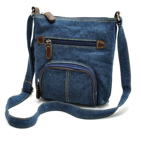 Casual Denim Stylish Light Crossbody Bag