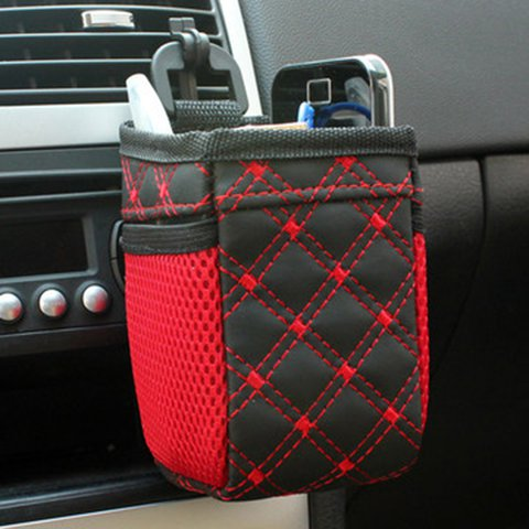Durable Multi-functional Auto Air Vent Car Casual Phone Storage Bag