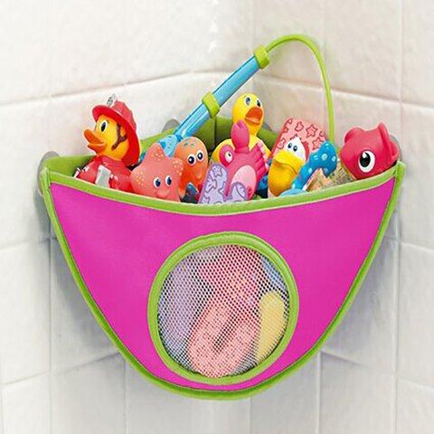 Waterproof 420D Oxford Children Toy Storage Bag Bathroom Triangle Sling Bag