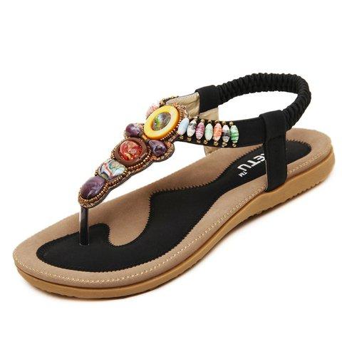 Flat Heel Gore Flip-flops Slip-On Sandals