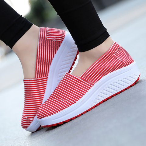 Casual Platform Canvas Sport Sneakers