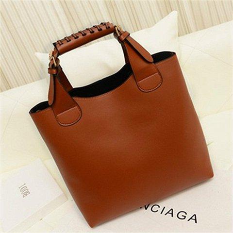 Women 2PCS Casual Stylish Designed High Capacity Tote Bag