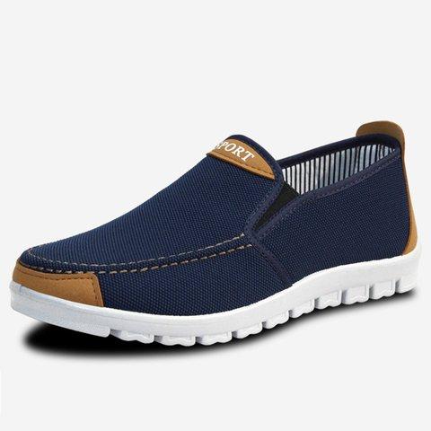 Gray Cloth  Shoes