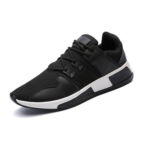 Breathable Flat Heel Spring/Fall Lace-up Sneakers