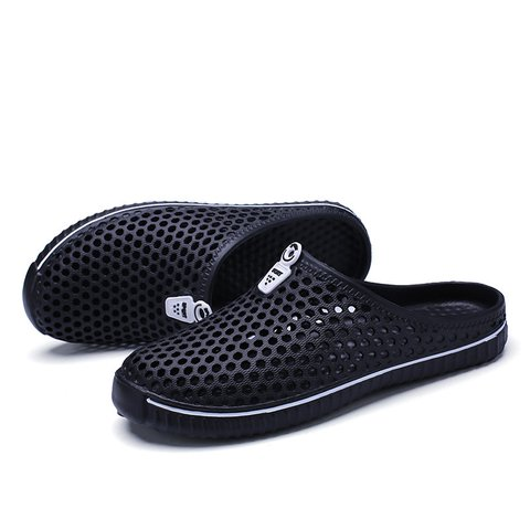 Hollow-out Casual Plastic Slippers